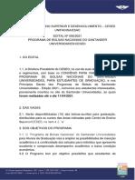 Edital No 056 2021 – Programa de Bolsas Nacionais Do Santander Universidades Cesed
