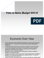 Union Budget 2011-2012(adil uchila)