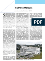 @GREEN BUILDING INDEX M'SIA (80-81)