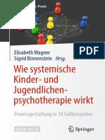 Wie systemische Kinder- und Jugendlichenpsychotherapie wirk - Elisabeth Wagner,Sigrid Binnenstein
