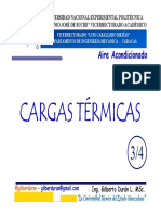 Clase Cargas Térmicas 3 de 4