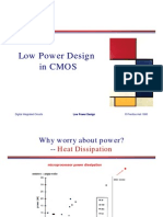 Low Power Design in CMOS