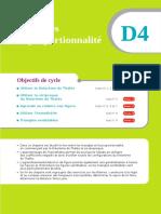 Chapitre D4 Triangles Et Proportionnalite