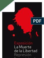 Exposición y debates La muerte de la libertad Logroño CGT GEL