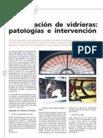 Escrivá, S. Restauración de vidrieras. Patologías e intervención. 2006