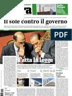 TERRA - quotidiano ecologista - edizione del 10/03/2011