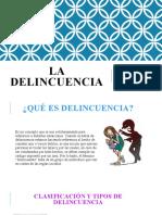 325841349 La Delincuencia