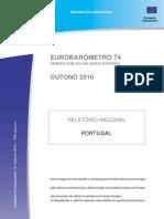 Eurobarómetro_74 -Outono 2010