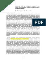 SE1 - Imbernon - La discusión paradigmática en la investigación educativ
