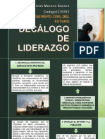 Decálogo de Liderazgo
