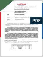 MEMO 018 - 2021 - PAUTAS PARA LA EVALUACION CUALITATIVA (DOCENTES)