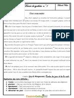 Devoir de Synthèse N°1  - Français - 9ème (2010-2011) Mr Hamdi Naïm 1