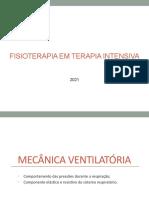 Mecânica Ventilatória aula 7