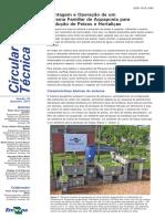 Circular. Montagem e Operação de um Sistema Familiar de Aquaponia para Produção de Peixes e Hortaliças. Características básicas do sistema