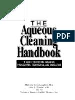 AQUEOUS CLEANING HANDBOOK