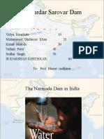 Narmada Dam.talhah PPT