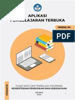 Modul 04 Aplikasi Pembelajaran Terbuka