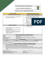 Prevención De Riesgos Reporte Condiciones Insegura