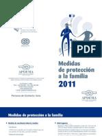 Folleto de medidas de proteccion a la familia 2011