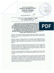 Resolution for the investigation of AFP budget
