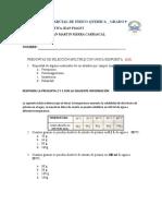 PRIMER PARCIAL DE FISICO - QUIMICA 9°