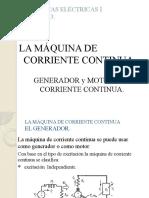 GENERADOR Y MOTOR CC
