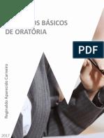 PRINCÍPIOS BÁSICOS DE ORATÓRIA