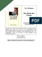 Widmer_Das Buch des Vaters