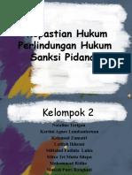 kepastian hukum dan sanksi pidana