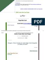 Web Card Page _ Rangers - Ross County 5-0. Ianis Hagi a Fost Integralist Și a Bifat Un Assist