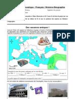 evaluation diagnostique Français/HG 5e