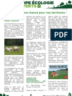 Newsletter n°3 EELV71