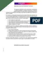 Convocatoria Plan Piloto de Regreso a las Escuelas Guanajuato