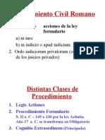 Procedimiento Civil Romano