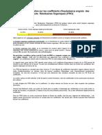 Coefficient d'équivalence en engrais