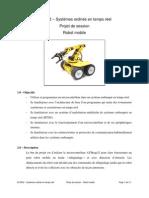 Systèmes ordinés en temps réel Projet de session Robot mobile