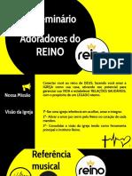 SEMINARIO REINO DE LOUVOR