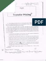 Transfer Price
