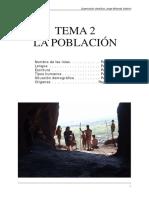 Tema 2 La poblacion 2015