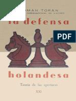 1958 - Toran - La Defensa Holandesa