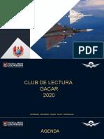 CLUB DE LECTURA GACAR