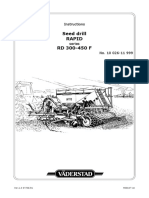 Rapid 300-400-450f Instruction Manual Serial No. 10026-11999