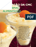 Aplicação da CMC em sistemas Alimentícios