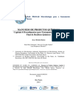 Procedimentos para Tratamento e Disposição Final de Residuos Quimicos