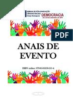 [Artigo Completo Em Evento] a Produção de Discursos Islamofóbicos Online No Brasil Estudo Exploratório Dos Agentes Cristãos