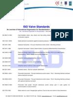 ISO Valve Standards