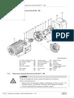 Instruções de Operação Motores trifásicos DR.71 – 315, 20264313  22