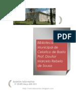Boletim Informativo Março 2011