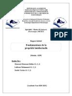 Rapport EDPI1