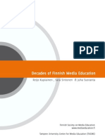Decades of Finnish media education